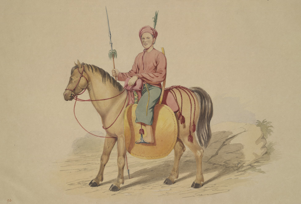 A Kathé or Munnipoore Horseman